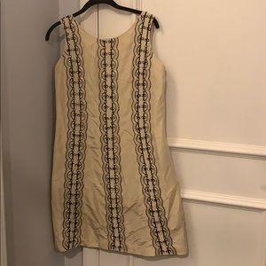 Tracy Reese Silk Beaded Sleeveless Dress Size 10